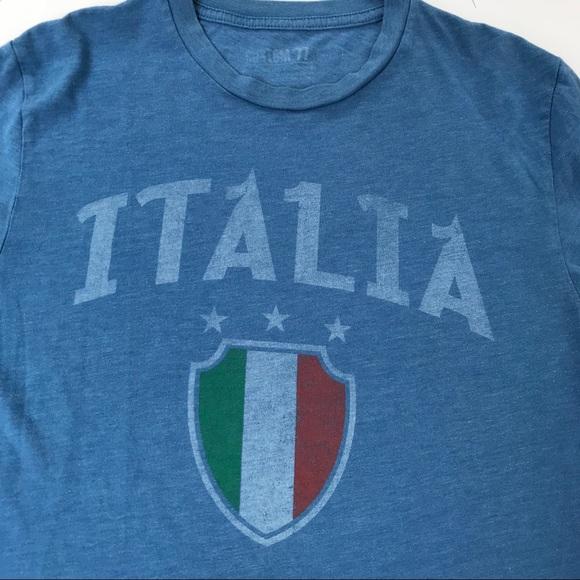 Custom 77 Tops Tshirt Italia Size Medium Poshmark
